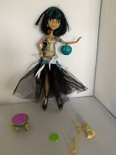 Monster High Cleo De Nile Ghouls Rule Y Accesorios