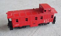 Vintage HO Scale Lionel M&StL 837 Red Caboose Car