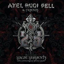 AXEL RUDI PELL - MAGIC MOMENTS (25TH ANNIVERSARY SPECIAL SHOW) 3 CD NEUF