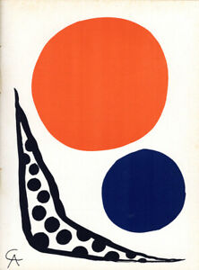 """Alexander Calder 1964 Lithograph Edition of 2000 """"Prints from the Mourlot Press"""""""
