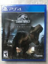 BRAND NEW PLAYSTATION 4 PS4 PRO ENHANCED JURASSIC WORLD EVOLUTION VIDEO GAME LOT