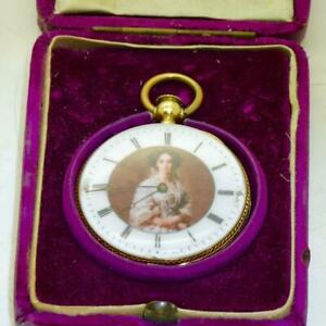 Unique 18k gold Patek Philippe pocket watch award by Russian Empress Maria c1850