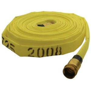 "DIXON NF615-50RAQT Forestry Mop Up Hose 1-1/2""x50ft. 135 psi w/forestry coupling"