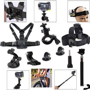 New Kit for Sony Gopro Action Cam HDR AS200V SJCAM SJ4 5 6 Eken H9 Accessories