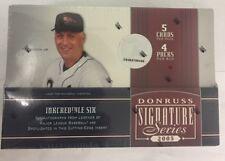 2005 Donruss Signature Series Baseball Hobby Box Factory Sealed