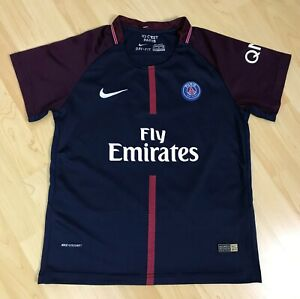 Nike Paris Saint-Germain FC Boys Youth Football Soccer Neymar JR Jersey Size S