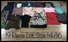 Girls Clothing Lot, 19 Items, Size 14/16, Poof, Cat & Jack, Art Class L2