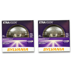 Sylvania XtraVision High Beam Low Beam Headlight Bulb for Dodge Ramcharger wu