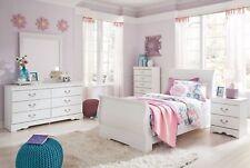 Ashley Furniture Anarasia Twin Sleigh 6 Piece Childrens Bedroom Set