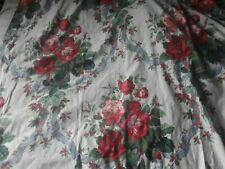 A Vintage Pr Handmade Lined Curtains The Rose Bouquet Coles Mortimer St London 3