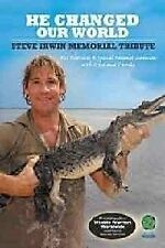 He Changed Out World - The Steve Irwin Memorial Tribute (DVD, 2006)