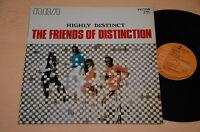 Friend Of Distinction LP Prog Psych 1° St Orig Italy 1970 Standup Foil EX
