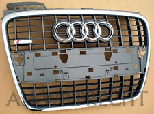 NEU Tuning Audi A4 8E B7 S-Line Chrom Kühlergrill Grill Single Gitter Chromgrill