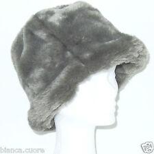 Cappello eco Pelliccia grigio colbacco TGL 56 AVVOLGENTE CALDO ENTRA FOTO  G116 650b5bcca502