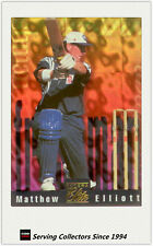 1996 Futera Cricket Elite Trading Cards Freshman Subset F3:Matthew Elliott