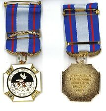 Medaglia Brasiliana Merito Dos Pacificadores Forcas De Paz Da ONU