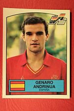 Panini EURO 88 N. 138 ESPANA ANDRINUA WITH BACK VERY GOOD / MINT CONDITION!!!