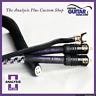 Analysis Plus Solo Crystal Oval Phono Cable (RCA to RCA) - Length 1.0 Meter