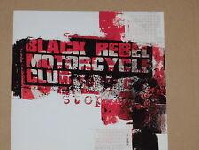 """BLACK REBEL MOTORCYCLE CLUB -Stop- 7"""" 45 nm"""