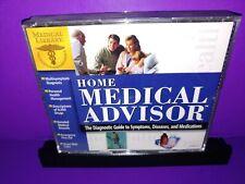 Home Medical Advisor PC CD ROM 3-Disc Set B499