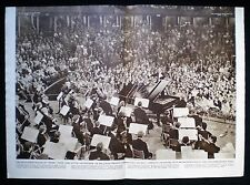 MALCOLM SARGENT & BENNO MOISEIWITSCH PROMS 2pp PHOTO ARTICLE 1953