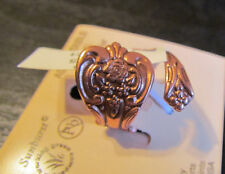 Solid Copper Rose Spoon ADJUSTABLE RING Made in USA nwt 1795c1