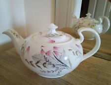 Beautiful Vintage English Large Bone China Teapot - Perfect - Ideal Summer Teas