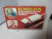 Vintage Remington Electric Home Haircut Kit Beard Mustache Trimmer Model HC-100