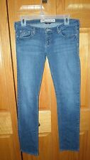 HOLLISTER ~ WOMENS JUNIORS LOW RISE SLIM SKINNY STRETCH JEANS ~ SIZE 5R