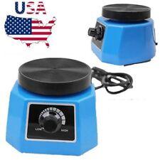 Dental Lab 4' Round Vibrator Shaker Shaking Oscillator Machine Variable Speed US