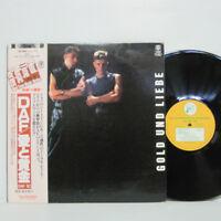 Deutsch Amerikanische Freundschaft / DAF -  Gold Und Liebe LP 1982 JAPAN PROMO