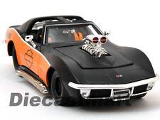 1 24 1970 Chevrolet Corvette Stingray Harley Davidson Maisto