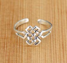 Zehenring  Ring  925 Silber - Toering - Keltische Knoten - Love Knot
