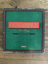 Vintage 1988 Spears Scrabble Deluxe Word Tile Family Board Game - Complete -