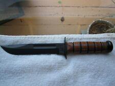 US Army KA-BAR Fighting Fixed Blade Knife 1219 New