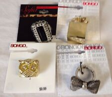 Costume Fashion Statement Rings  LOT of 4 Rings