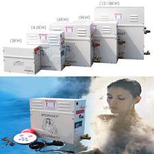 New Bathroom Steam Generator Sauna Steam Khan Stove Bath SPA Shower w Controller