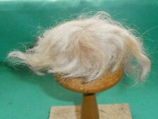 """doll wig mohair blond 5.5"""" to 6""""/ short/"""