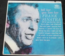 FRANK SINATRA Tell Her You Love Her LP