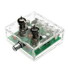 6J1 Valve Pre-amp Tube Board DIY KIT Headphone Buffer +Case AC 12V ATF