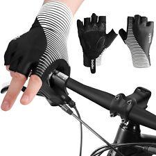 Sports Cycling Half Short Finger Gloves Gel Pad MTB Road Bike Gym For Men Women