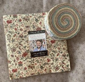 Moda Fabric Regency Romance by Christoper Wilson-Tate Jelly Roll and Layer Cake