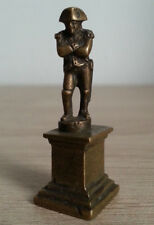 SUPERBE ancienne PETITE SCULPTURE en bronze NAPOLEON figurine