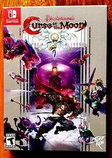 BLOODSTAINED CURSE OF THE MOON LIMITED NINTENDO SWITCH BRAND NEW FACTORY SEALED