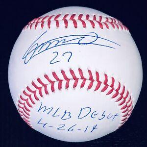 Vladimir Guerrero Jr. Signed Toronto Blue Jays autographed MLB auto baseball JSA