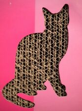Paws N Claws Pet Corrugated Cardboard Scratch Pad Board 15.6 in by 4.1 inch Cat