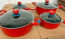Cookware set 8 piece Pots Pans Non Stick professional cooking kit New