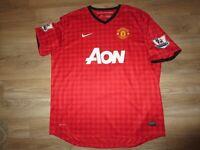 Paul Scholes #22 Manchester United Soccer Football Jersey 2XL 2X mens