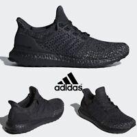 Adidas zapatos zapatos de correr ultra impulso laceless Triple negro bb6222