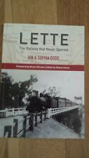 Lette-the railway that never opened (Train Book - NSW/Victorian Railways)
